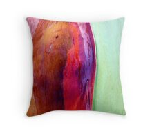 Red Cheeks Throw Pillow