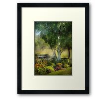 There was this dream, and it all began.... Framed Print