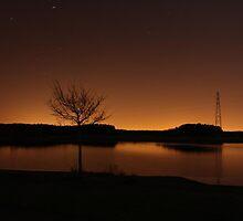 A Midnight Sunset by Lewiz