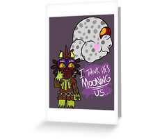 Majora's Moon Greeting Card