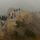 The Great Wall Of China At Badaling - 2 © by © Hany G. Jadaa © Prince John Photography
