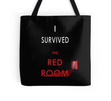 I Survived the Red Room - Mr Grey Tote Bag