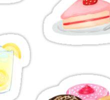Food Sticker Set Sticker