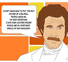 I'm Ron Burgundy? by GeekAmour