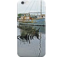 Wooden Boats - Macquarie Harbour, Strahan iPhone Case/Skin