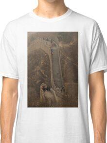 The Great Wall Of China At Badaling - 1 ©  Classic T-Shirt