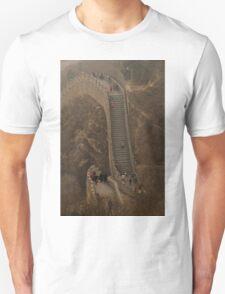 The Great Wall Of China At Badaling - 1 ©  T-Shirt