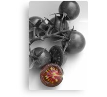 Chocolate Cherry Tomato (focal) Canvas Print