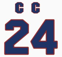 National football player C.C. Brown jersey 24 by imsport