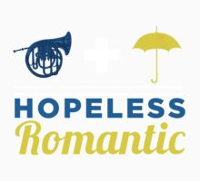 Hopeless Romantic Kids Tee