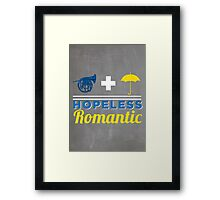 Hopeless Romantic Framed Print
