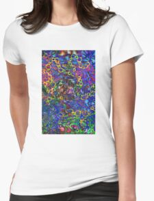 Chain Reaction  Womens Fitted T-Shirt