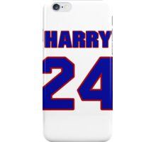 National football player Harry Colon jersey 24 iPhone Case/Skin