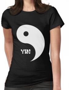 Classic Yin matches with Classic Yang Womens Fitted T-Shirt
