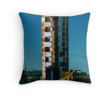Rusty and Erect Throw Pillow