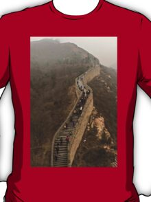 The Great Wall Of China At Badaling - 3 © T-Shirt