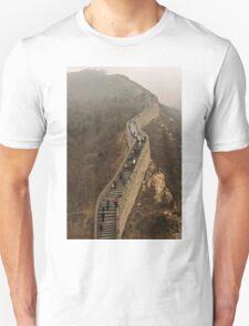 The Great Wall Of China At Badaling - 3 © T-Shirt