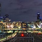 Melbourne City View by Alf Caruana