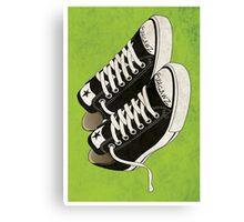 Famous Shoes Canvas Print