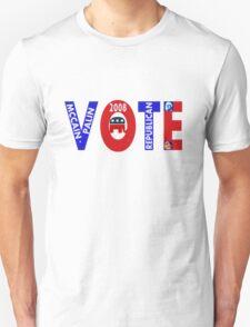 VOTE MCCAIN-PALIN 2008  T-Shirt