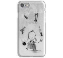 Dangerous juggling iPhone Case/Skin