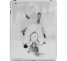 Dangerous juggling iPad Case/Skin