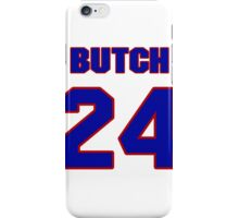 National football player Butch Byrd jersey 24 iPhone Case/Skin