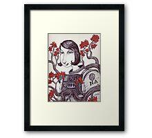 Space Cadet Framed Print