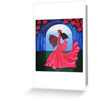 The Dance of the Rose Greeting Card
