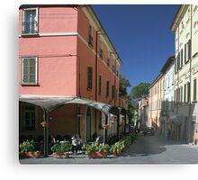 Italian hill town Metal Print