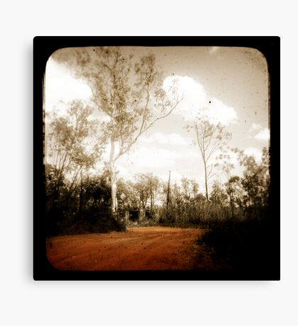 Outback Track Canvas Print