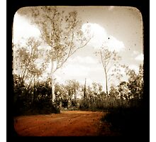 Outback Track Photographic Print