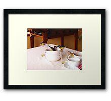 Cheeky Bananaquit Birds Framed Print