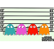 The Usual Suspects Photographic Print