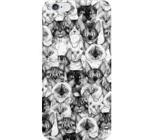 just cats iPhone Case/Skin