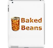Baked Beans Can iPad Case/Skin