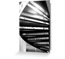 Liquid staircase Greeting Card