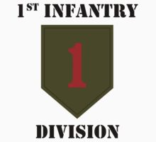 1st Infantry Division W/Text by VeteranGraphics