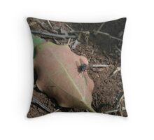 Garden Fly Throw Pillow