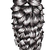 Casual Beard by Amparo Cortes