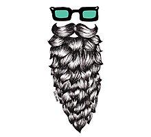 Casual Beard Photographic Print