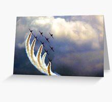 Dramatic Arrows Greeting Card
