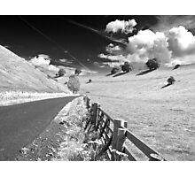Black and white Yorkshire Photographic Print