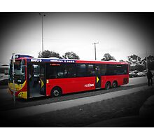 The Red Bus Photographic Print