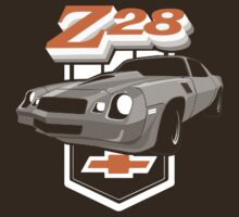 1979 Camaro Z28 two color illustration T-Shirt