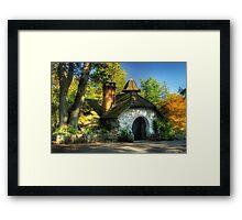 The little cottage Framed Print