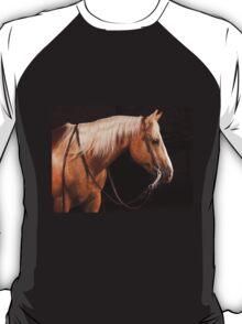 Palomino Quarter Horse at DSR Ranch T-Shirt