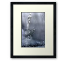 Death Of Freedom Framed Print