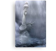 Death Of Freedom Canvas Print
