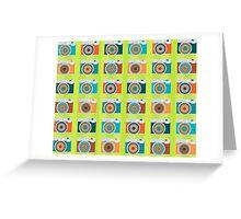 i love instax ♥ (green version) Greeting Card